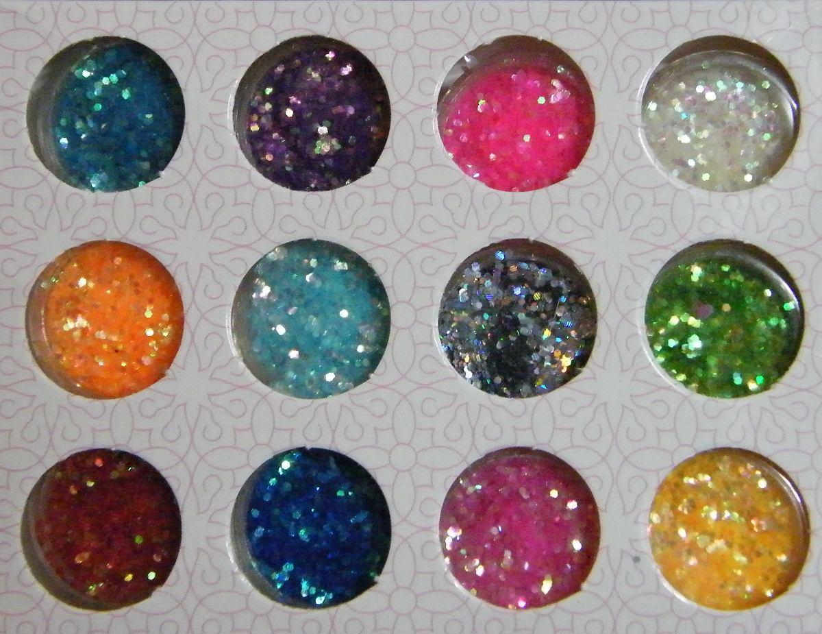 set-12-tonos-glitters-cola-sirena-nail-art-deco-unas-18120 ...