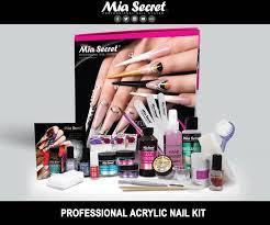 Mia Secret Kit De Uñas Acrílicas Completo Pro